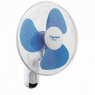 Bestron Wall fan 45 cm. with remote control