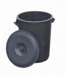 Wassertonne mit Deckel - 50 Liter