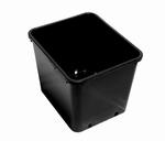 Plantcontainer vierkante pot 30x30x30 cm - 18 ltr
