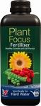 Gartenpflanzennahrung Focus Wasserhaerte hart 1 Liter