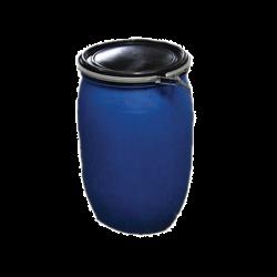 Wassertonne 200 Liter blau