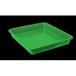 Opvangbak vierkant groen tbv 11 Liter pot