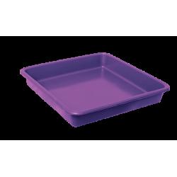 Opvangbak vierkant paars tbv 11 Liter pot